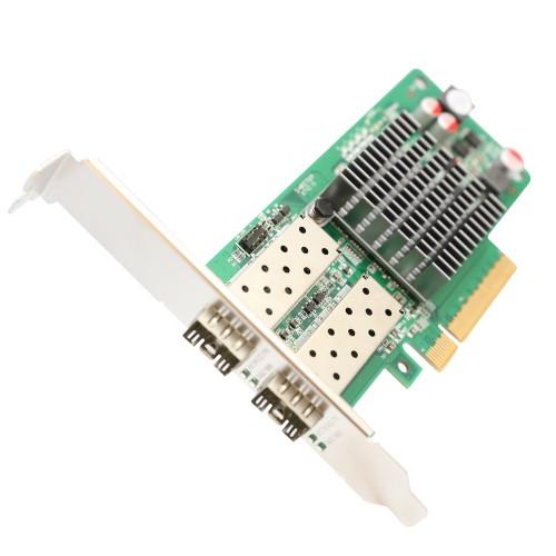 2 Port 10GbE PCI-e x8 NIC SFP+ Network Card (Intel 82599ES
