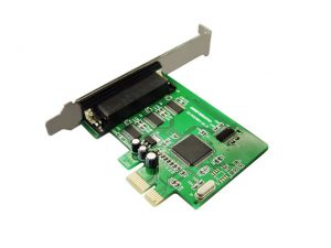 RS-232 4-Port PCI Express Card with fan-out cable,WCH384 chipset